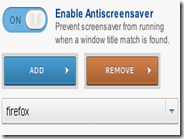Disabilitare lo screensaver in Windows quando uno specifico programma è avviato
