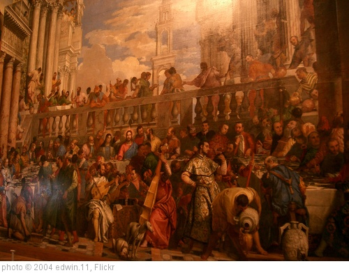 'The Wedding Feast at Cana in the Musee de Louvre' photo (c) 2004, edwin.11 - license: http://creativecommons.org/licenses/by/2.0/