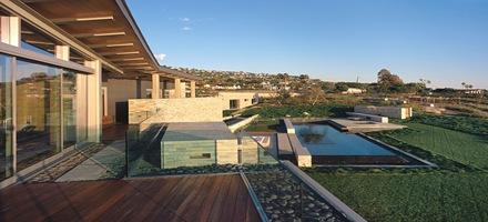 Casa altamira de fachada moderna en palos verdes Estilos de arquitectura contemporanea