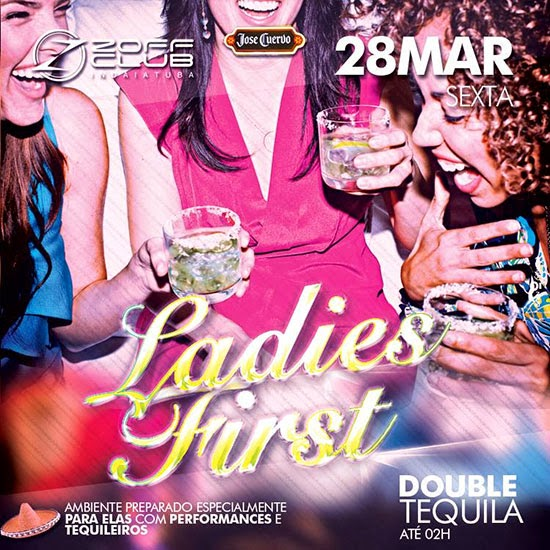 Ladies First na Zoff Club em Indaiatuba