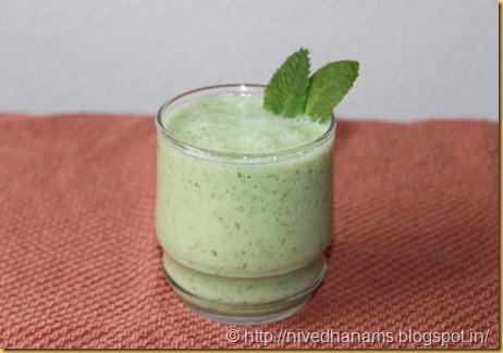 Cucumber Mint Shake - IMG_3201