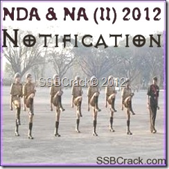 NDA 2012 Notification