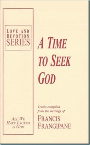 a time to seek God