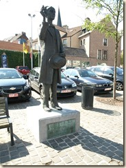Bilzen: monument voor Kamiel Huysmans
