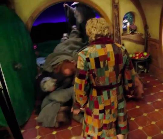 Bilbo i morgonrock