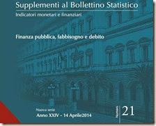 Supplementi al Bollettino Statistico. Aprile 2014