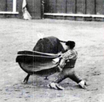 1912-06-13 Joselito Madrid presentacion Quiebro de rodillas