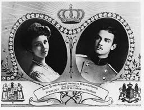 Ernesto Augusto y Victoria Luisa. Imagen Imagen