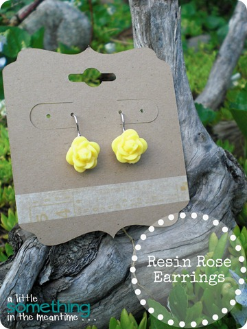 Resin Rose Earrings Banner WM
