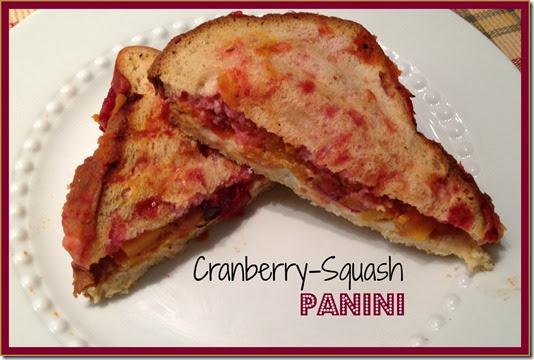 cran squash panini