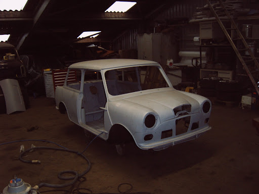 het begin wolseley hornet 1966