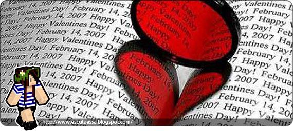 escuta essa Valentine's Day