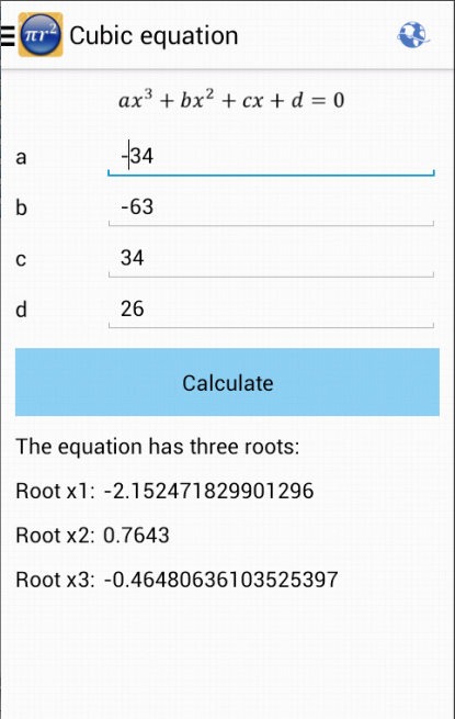 Maths Formulas Screenshot 4