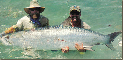 Tarpon uaually win the Fight with the Angler in Florida Keys waters