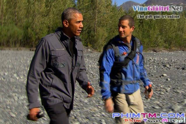 Xem Phim Vào Nơi Hoang Dã Với Bear Grills Và Tổng Thống Barack Obama - Running Wild With Bear Grylls - President Barack Obama - phimtm.com - Ảnh 3