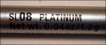 NYX Platinum Slide On Pencil