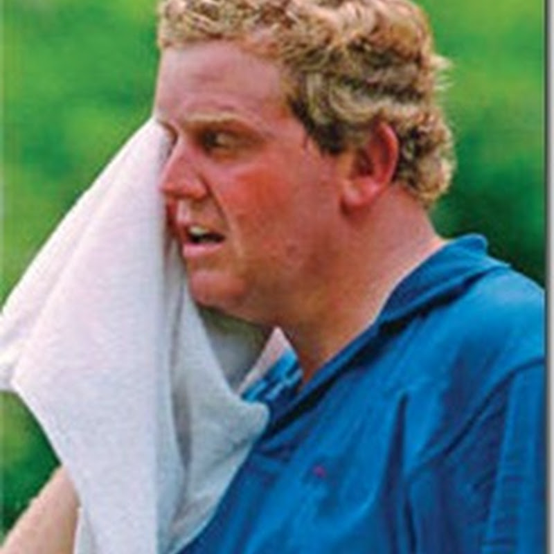 "The Hot and Sweaty US PGA Championship. Dont Forget Your Roll On Deodorant, Marked ""A"" for Ass"