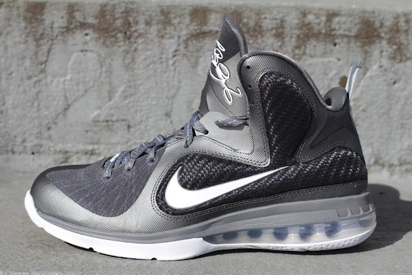 Nike LeBron 9 8220Cool Grey8221 Arriving at Retailers