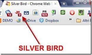 silver bird twitter