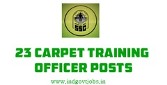 SSC Carpet Training Officers