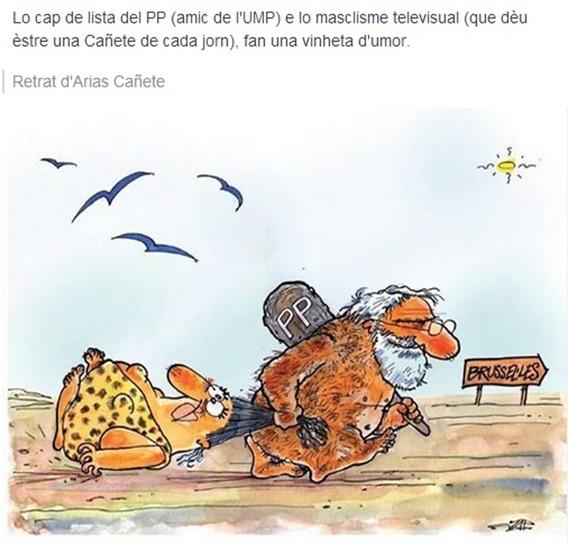 PP Cañete en campanha