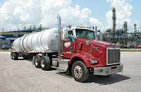 Trimac operates a fleet of 14 LNG-fueled Kenworth tractors for chemical hauling in the Houston area