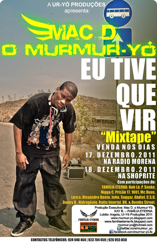 Flyer de Venda da Mixtape