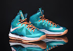 nike lebron 10 gr miami dolphins 2 03 Gallery: Nike LeBron X Miami Setting or Dolphins if you Like