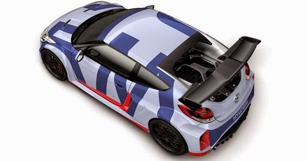 Hyundai mostra Veloster com motor central