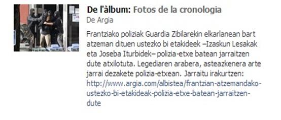 Aurera Martin cronica de l'arrestacion