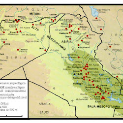 01.- Mapa de Mesopotamia