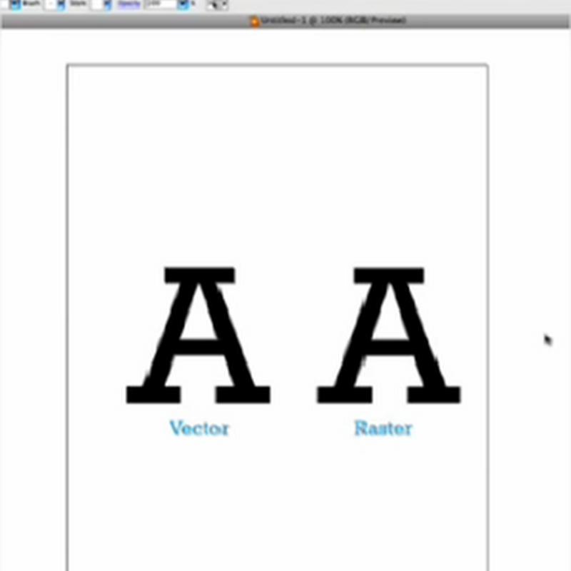 La diferencia entre raster y vector y cómo trabajar con cada tipo de gráfico