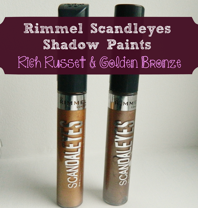 rimmel scandeleyes shadow paints