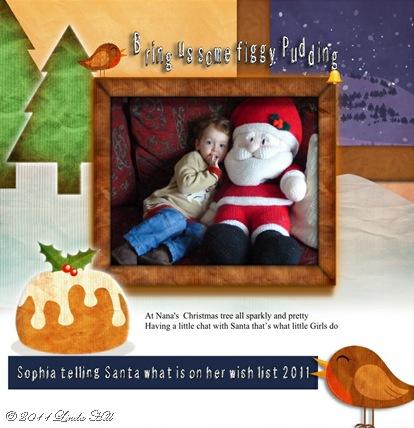 sophia christmas 2011