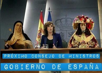 Consejo de ministros divinos del PP