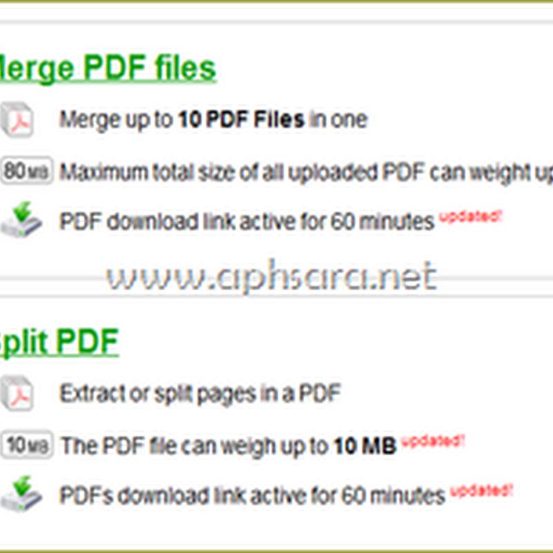 รวมไฟล์ pdf แยกไฟล์ Pdf ง่าย ๆ ไม่ต้องติดตั้งโปรแกรม