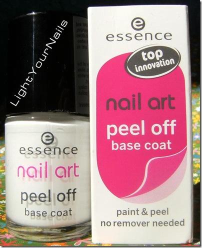 Essence peel off base coat