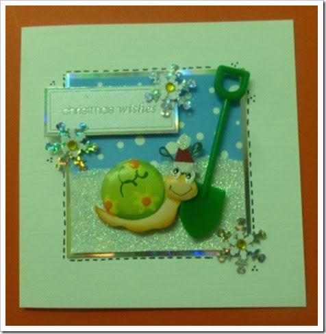 Gardening Chrstmas Card