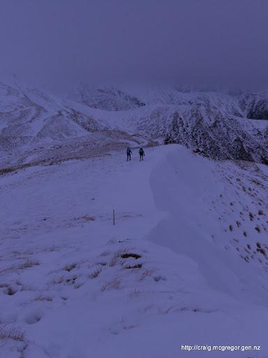 Snowy Ridgeline