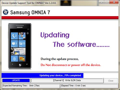 Samsung Omnia 7 fix 7392
