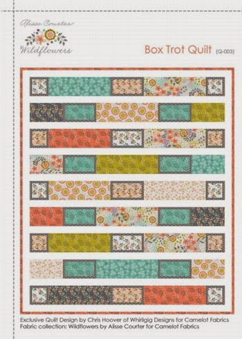 Box Trot Quilt pattern
