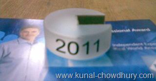 Microsoft MVP Ring for 2011 - 2012
