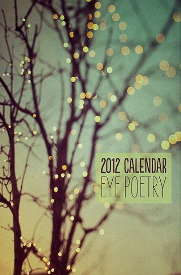 Eye Poetry Calendar-