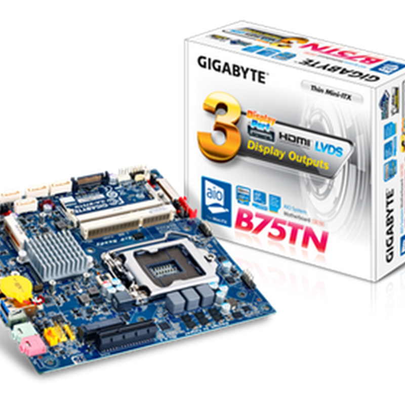 Build your own All-in-One PC: GIGABYTE launches Thin Mini-ITX motherboards