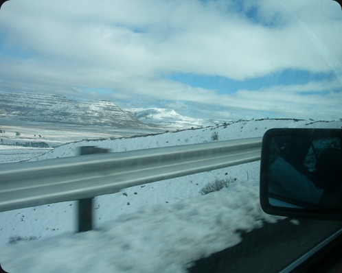 Driving up Penhoek Pass, Eastern Cape