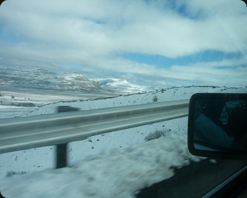 Driving up Penhoek Pass, Eastern Cape