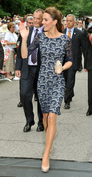 Kate Middleton at the National War Memorial