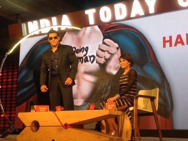 Salman Khan At The India Today Conclave 2014