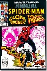 Marvel team up annual #06, este anual marca el primer encuentro de todos los protagonistas entre ellos, lo que derivara multiples apariciones en sus diversas series.