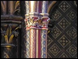 Ste Chapelle columns3